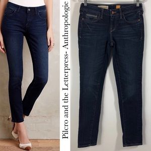 Pilcro and the Letterpress Anthro Stet Ankle Jeans